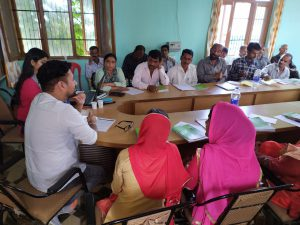 Lead Farmers Training at Pachhad